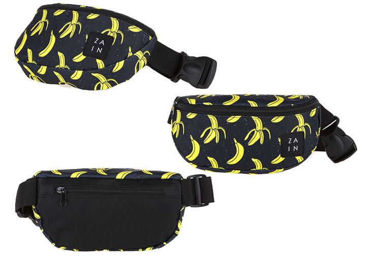 Сумка на пояс с бананами 131