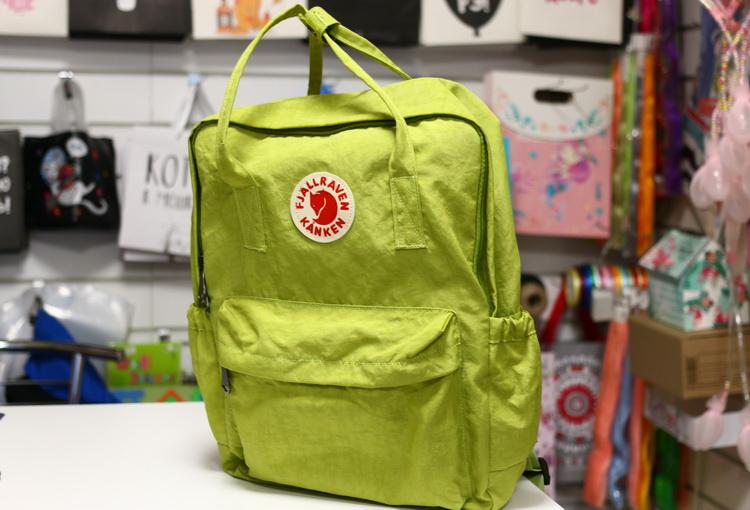 Рюкзак kanken зеленый