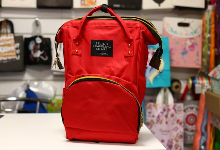 Рюкзак сумка красный