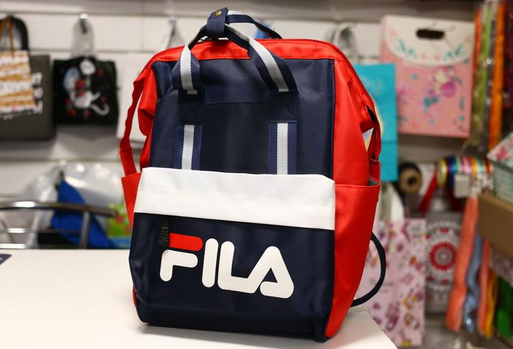 Рюкзак сумка сине красный