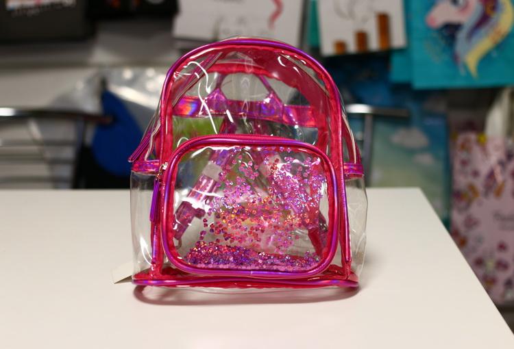 Рюкзак маленький прозрачный