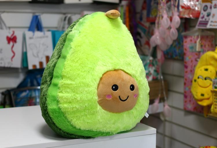 Игрушка авокадо пушистый 40см