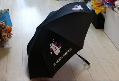 Зонт на оборот