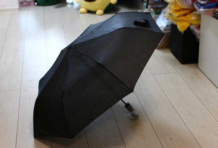 Зонт мужской черный