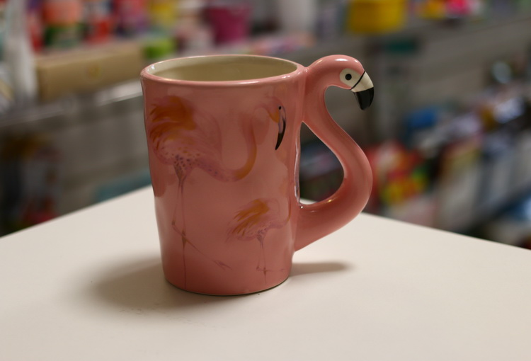 Кружка фламинго 300мл