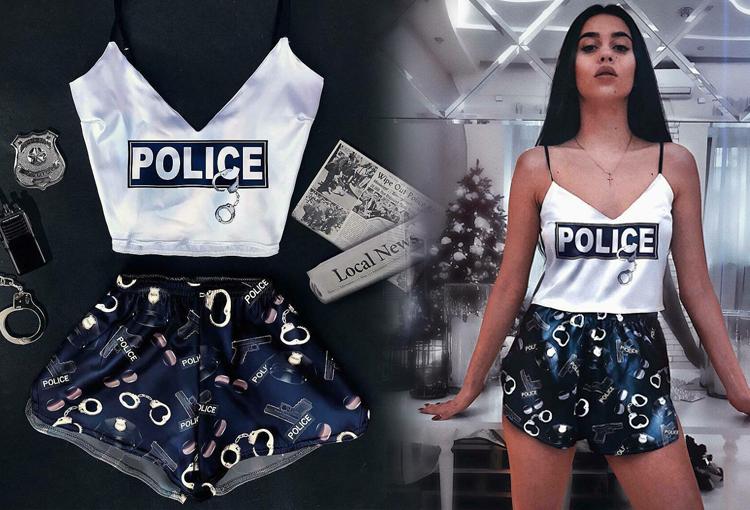 Пижама Police
