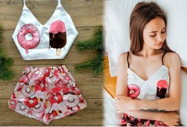 Пижама с пончиками