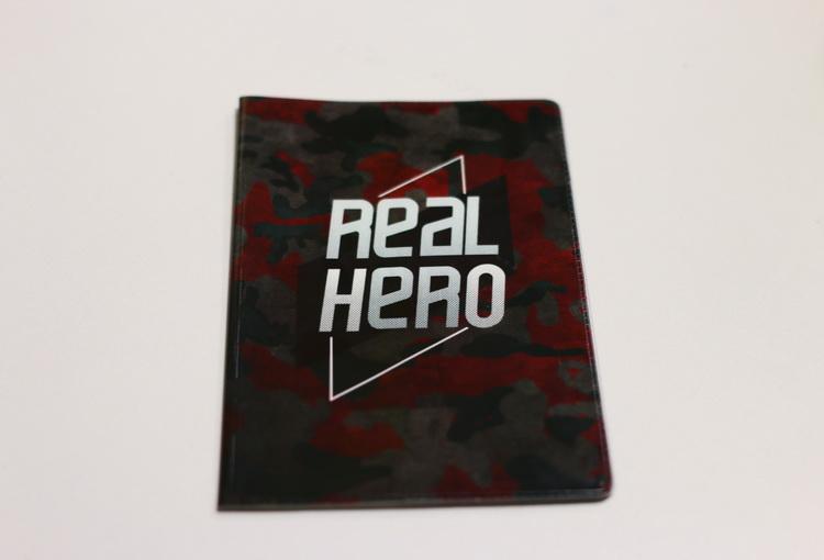Обложка real hero