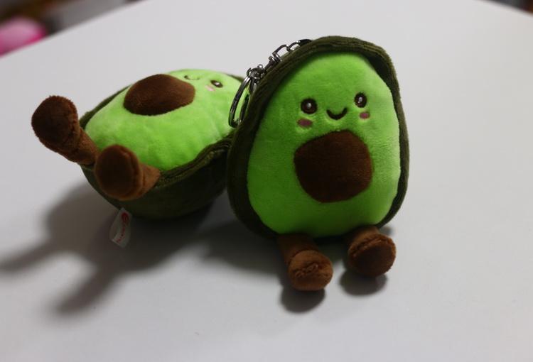 Брелок мягкий авокадо с ножками