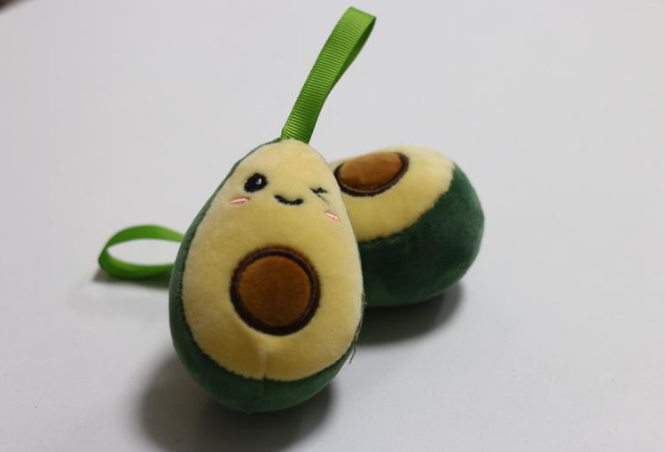 Брелок мягкий авокадо