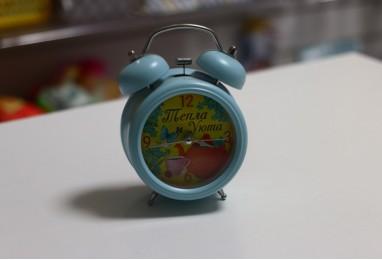 Часы будильник тепла и уюта