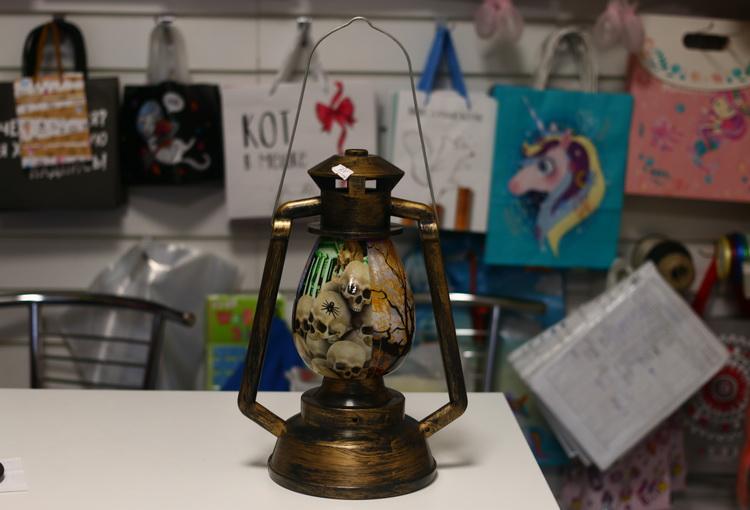 Лампа интерьерная со звуком