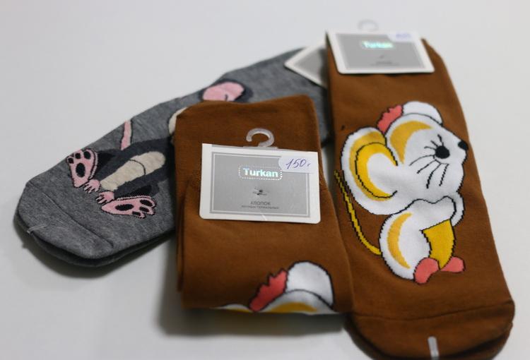 Носки Turkan мыши в ассортименте