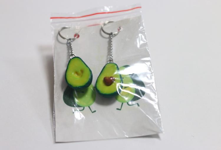 Брелок Handmade авокадо не разлучники