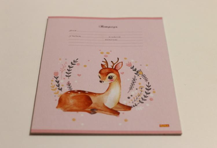 Тетрадь 18л # очаровательные животные