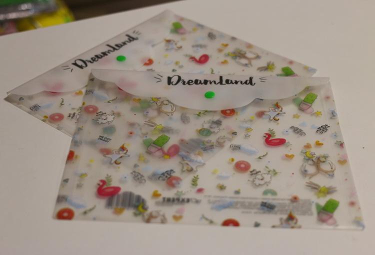 Папка для тетрадей пластиковая